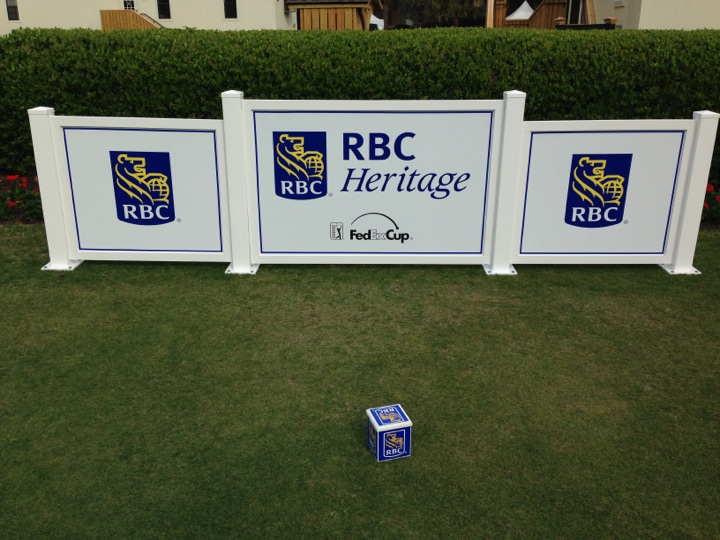 Let's take a look around the RBC Heritage for...