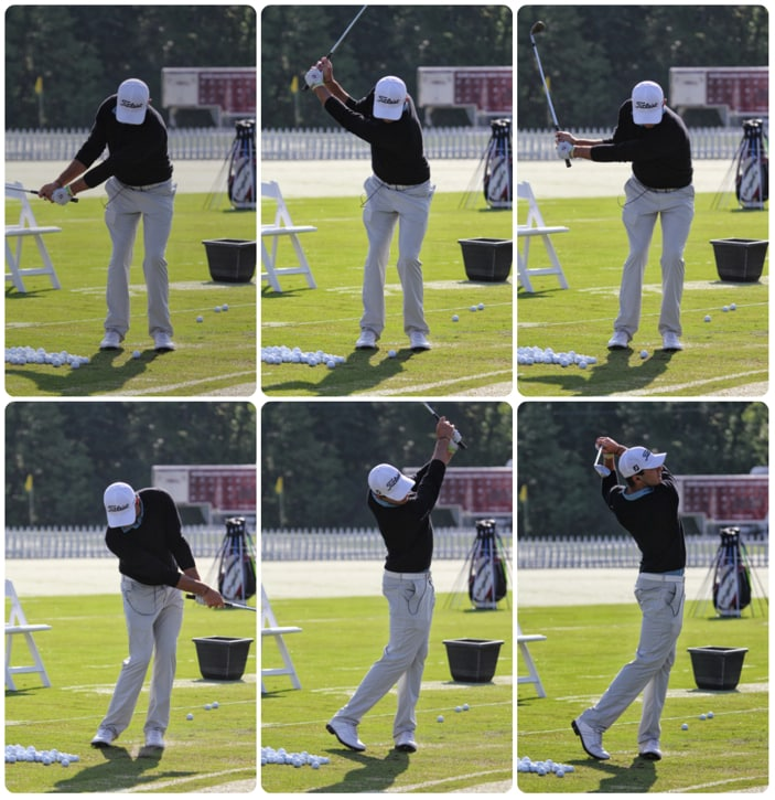 And then a look at his swing.