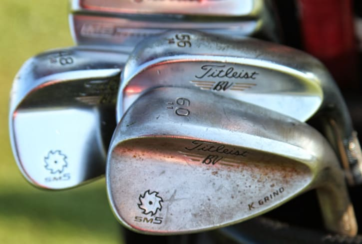 He's also gaming a new lineup of Vokey Design...