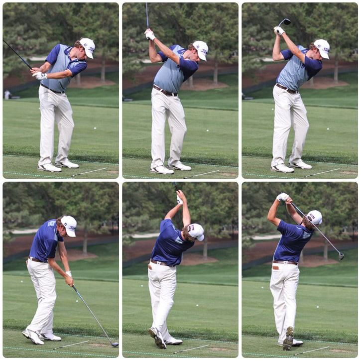 Ben's swing sequence.