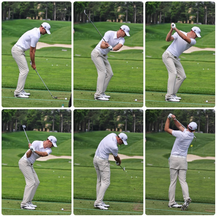Brendan's swing sequence...