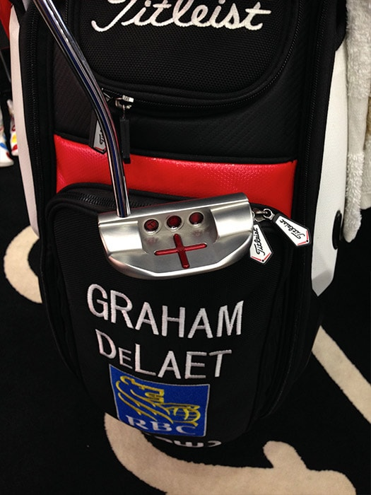...this is the putter of Titleist Brand Ambassador...