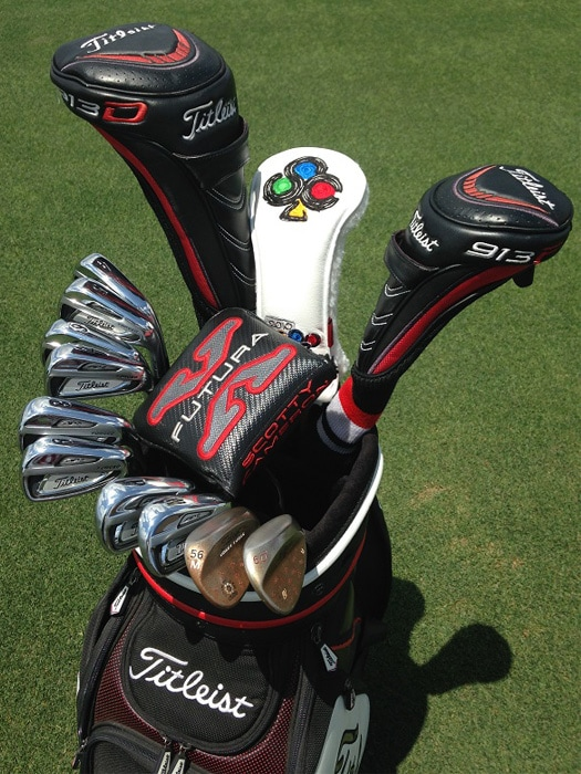 The Titleist tools that Mike trusts out on the...