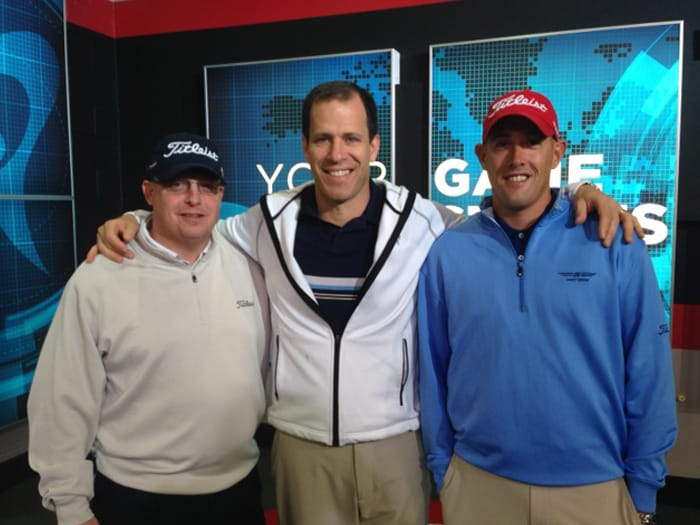 Marc, Dr. Rose and Brent at TPI
