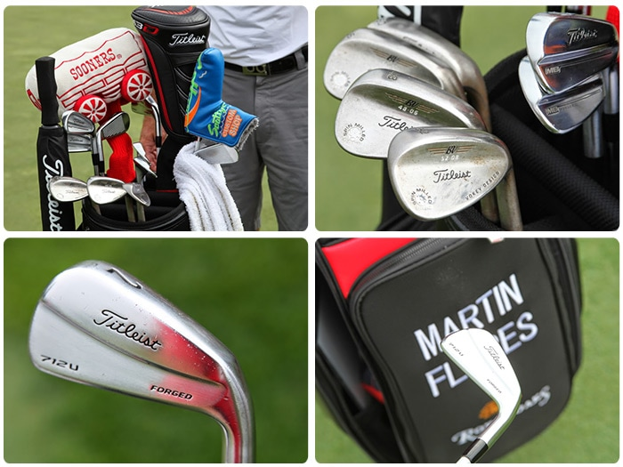 Here's a good look at the clubs favored by...