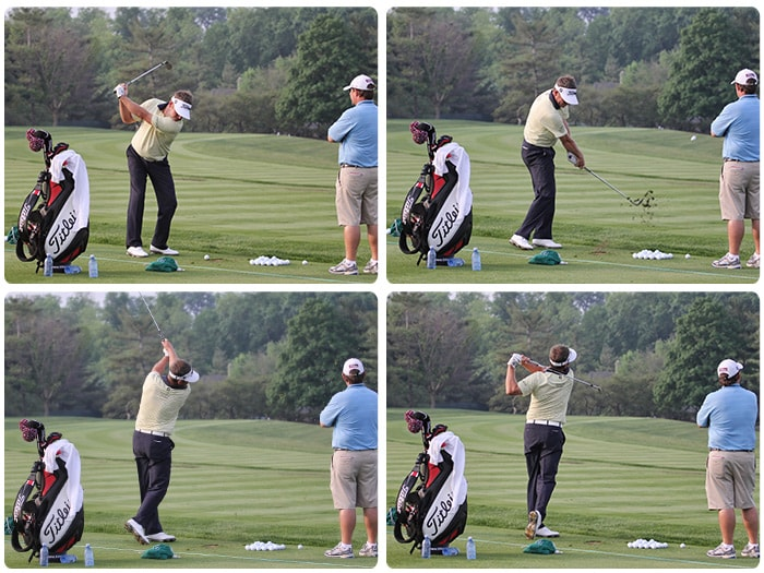 Also spotted on the Muirfield Village practice...