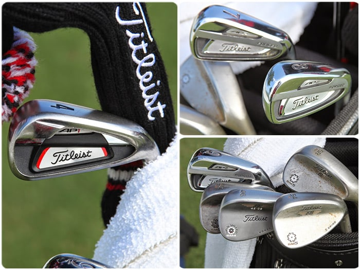 A look at Jason's AP1 4-iron, AP2 7-iron and...