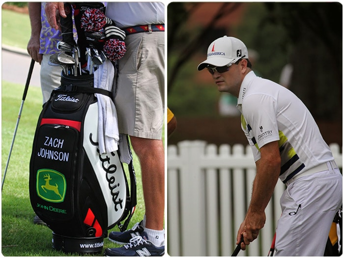 We spotted Titleist Brand Ambassador Zach Johnson...