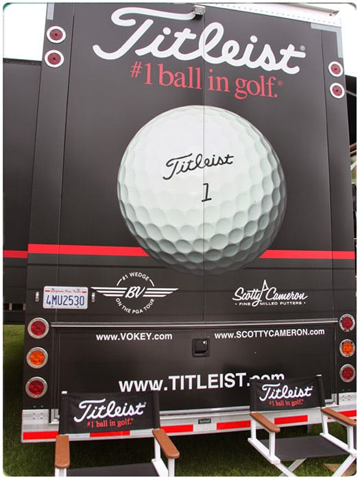 The Titleist Tour Van arrived in Memphis early...