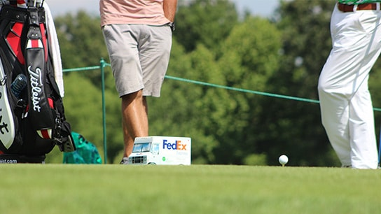 The #1 ball in golf at the 2014 FedEx St. Jude...