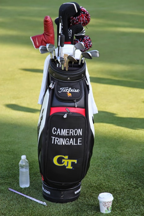And a quick peek inside Cameron's bag.