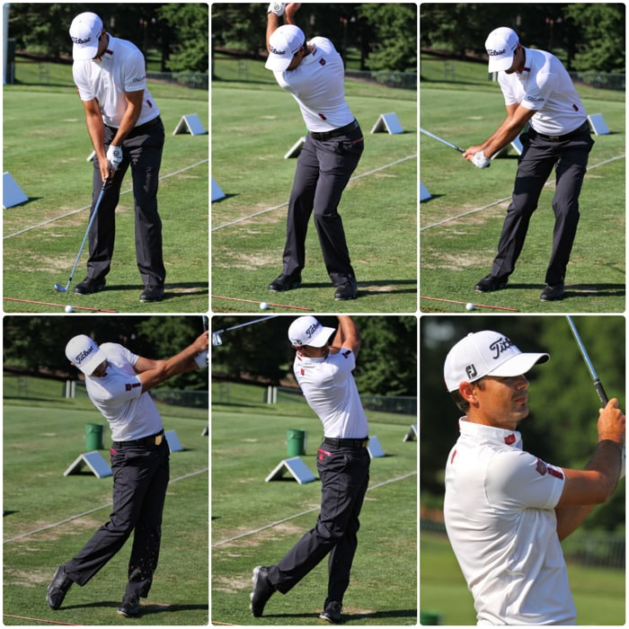 And another swing sequence from the range with...