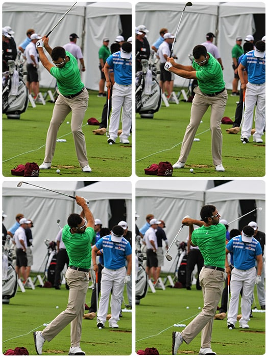 The swings of Titleist Brand Ambassador Cameron...