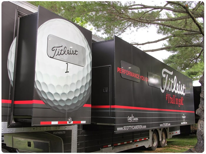 The Titleist Tour Van was on-site early this week...
