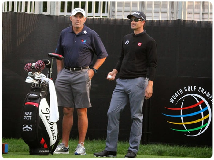 Titleist Brand Ambassador Adam Scott captured top...