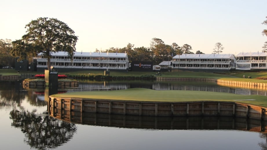 One of the most iconic holes in golf... No. 17 at...