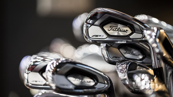 New to the AP family, meet the Titleist 718 AP3 ir...
