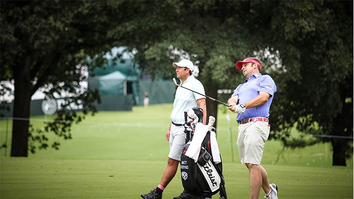 PGA professional Matt Dobyns posted a T16 finish...