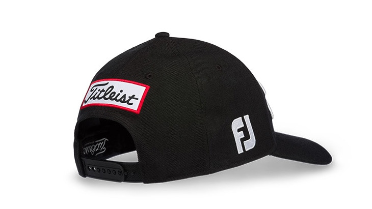 Tour Snapback, Black with White embroidery