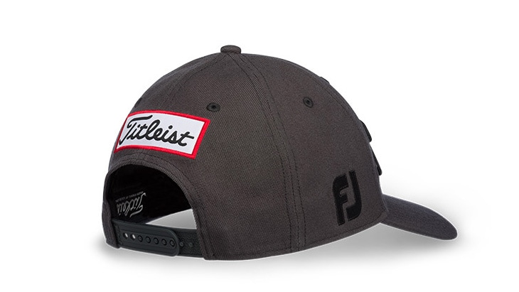 Tour Snapback, Charcoal with Black embroidery
