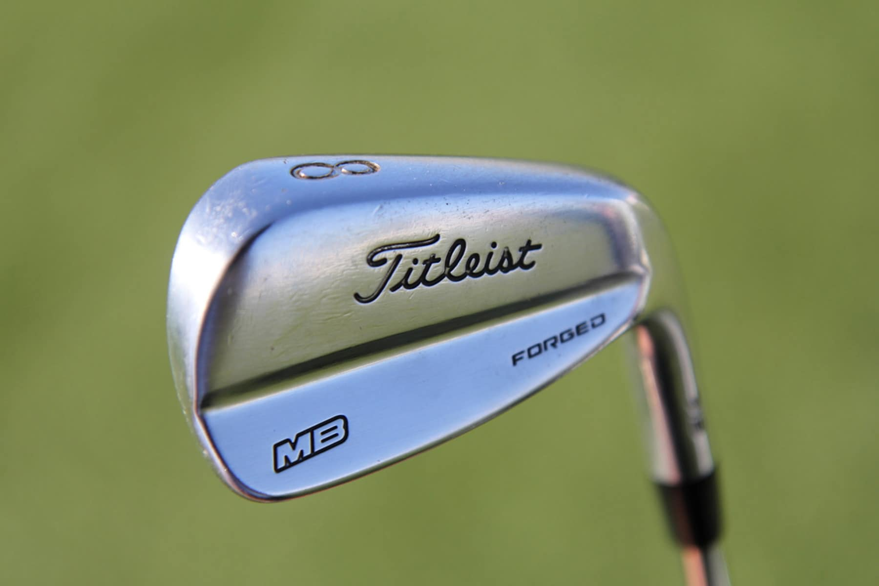 Justin carries 718 MB (5-9) irons for maximum feel...