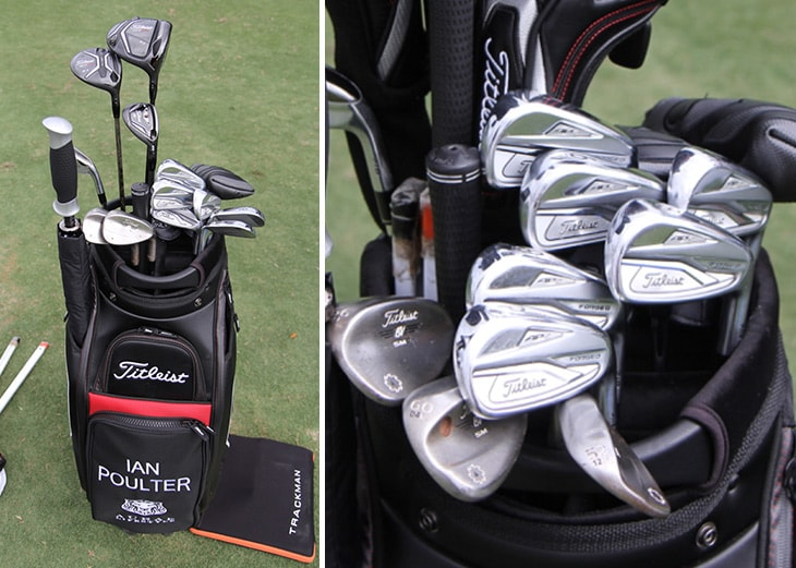 Scroll to take a look inside Ian's Titleist...