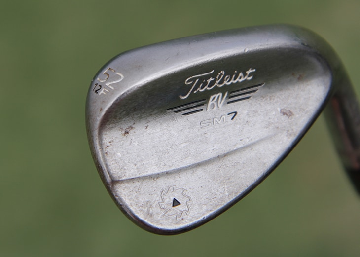 Speaking of his wedges, Ian is gaming three new...