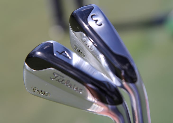 Bridging the gap between his fairway metal and his...