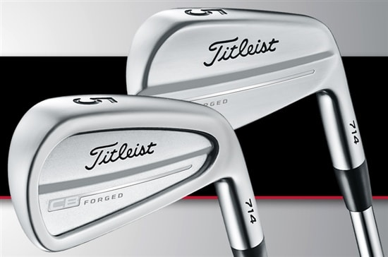 New Titleist CB and MB Irons