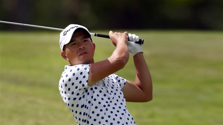 Chan charges to victory at the Asia Pacific Diamond Cup