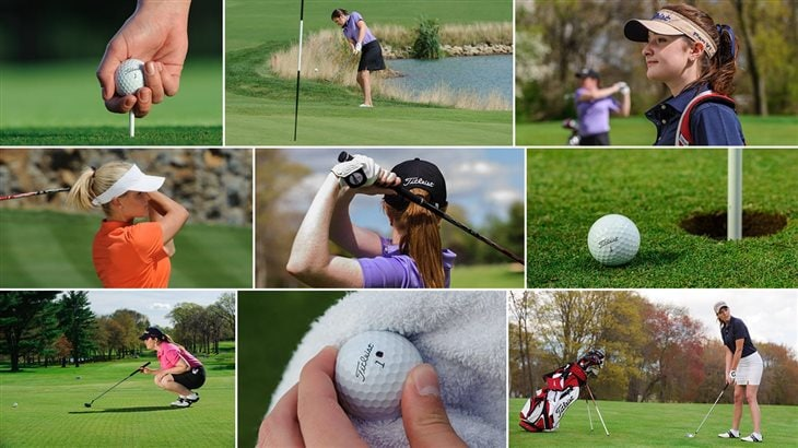 The #1 Ball at the 2016 NCAA Division 1 Women's Golf Championship