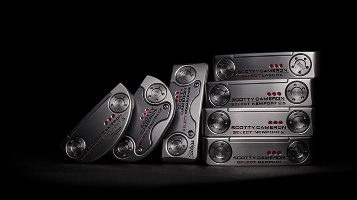 Titleist Introduces Next Generation of Scotty Cameron Select Putters
