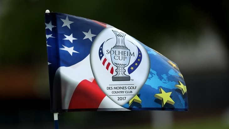 #1 Ball at the 2017 Solheim Cup