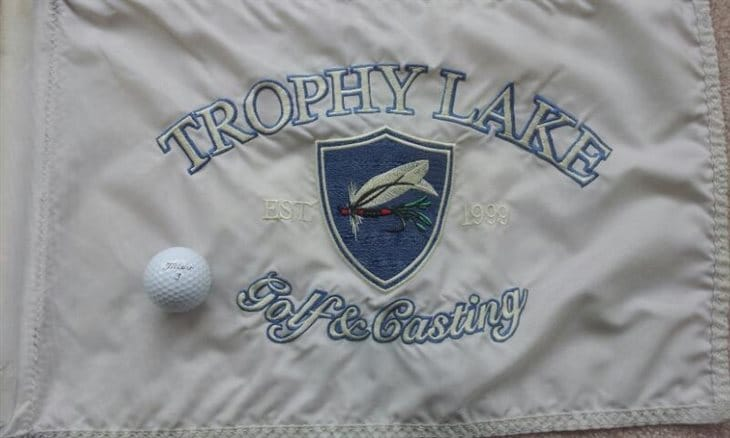 Hole in One at Trophy Lake Golf and Casting