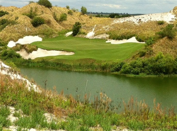 ACE on Streamsong Blue