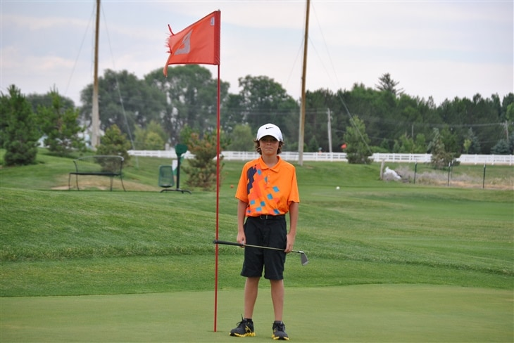10 Year Old gets Hole In One