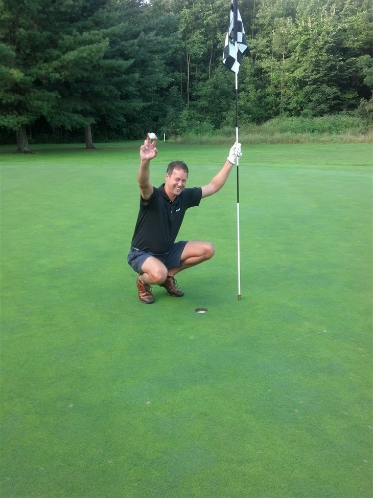 First Hole in One