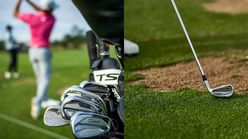 New Titleist T-Series, 620 CB and 620 MB irons made their debut at the 2019 U.S. Open