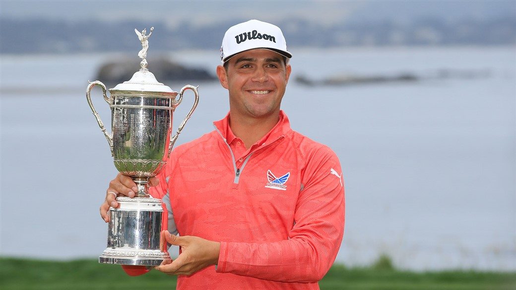 Gary Woodland trusted a Pro V1 golf balll to capture his first major title at the 2019 U.S. Open