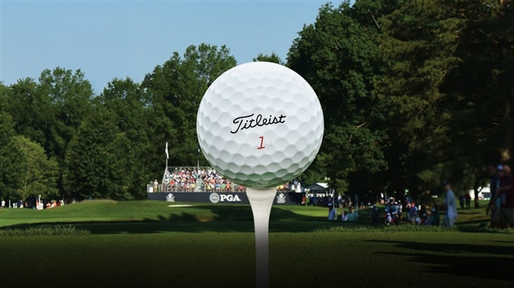 Major Sweep for Titleist
