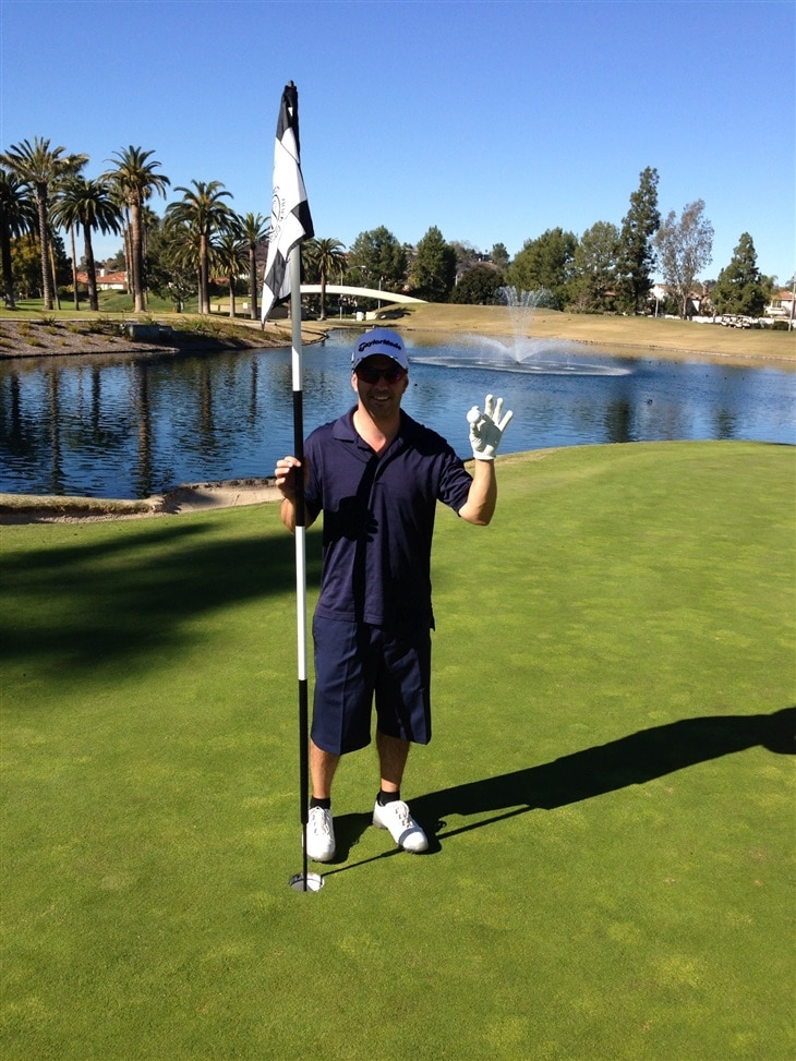 My whole first hole in 1