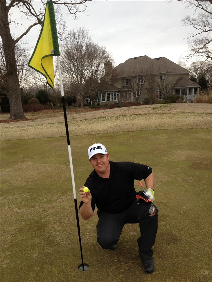My first hole in one on my 32 birthday