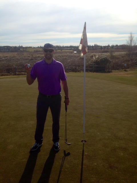 First Hole in One - 6-iron