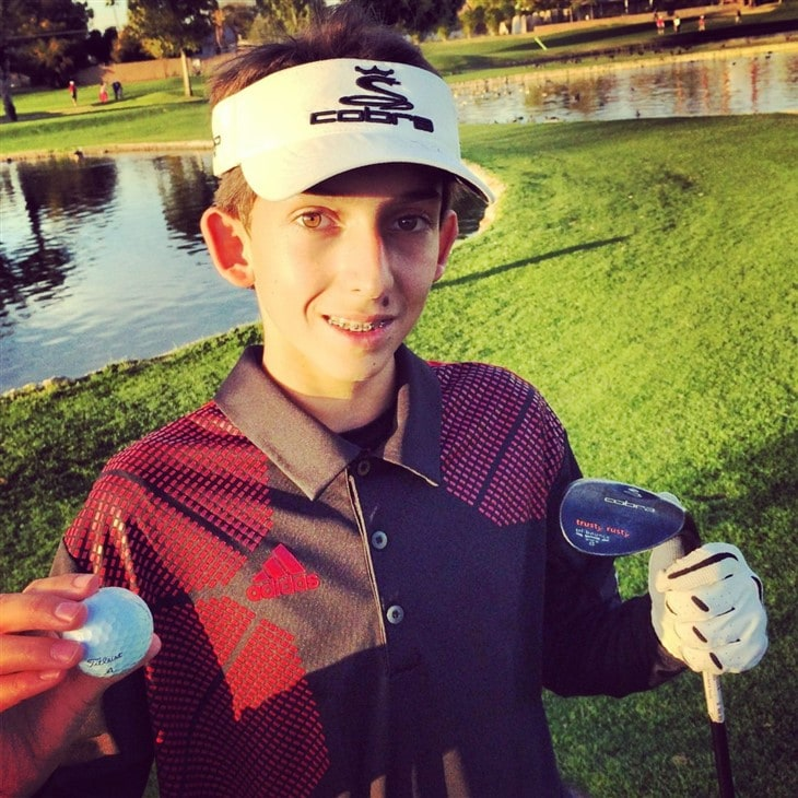 Alex Crozier Hole in One
