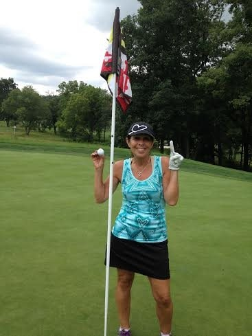 Hole in One on number 13
