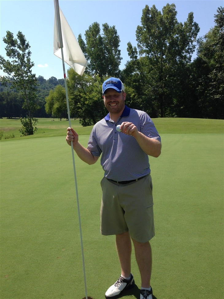 Pastor has hole in one at his own Charity Golf Tournament